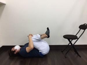 仰向け体操2